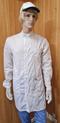 Антистатический мужской халат EZ-М-156-K с воротником