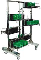 DOKA-A022 тележка транспортная антистатическая для печатных плат