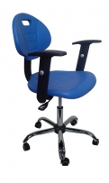 DOKA-PL-230 стул лабораторный, литой полиуретан