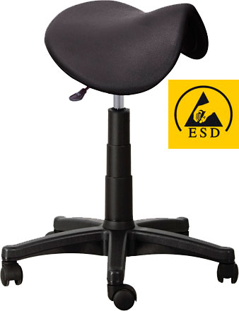 Антистатический стул-седло CS-109