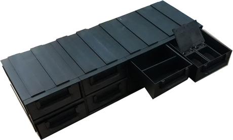 Кассетница A-128 антистатический контейнер для компонентов