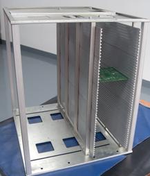 Антистатический стеллаж DOKA-COP-808L  для печатных плат